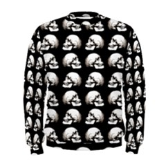 Halloween Skull Pattern Men s Sweatshirt
