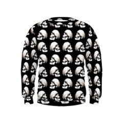 Halloween Skull Pattern Kids  Sweatshirt