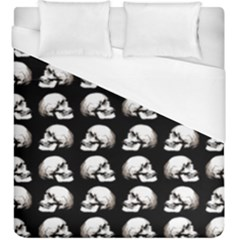 Halloween Skull Pattern Duvet Cover (king Size)