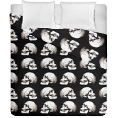 Halloween Skull Pattern Duvet Cover Double Side (california King Size)