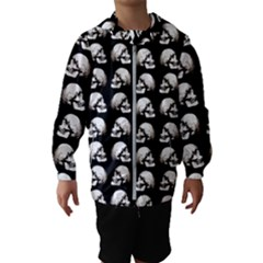 Halloween Skull Pattern Hooded Wind Breaker (kids)