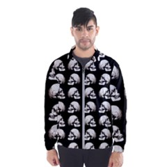Halloween Skull Pattern Wind Breaker (men)