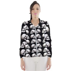 Halloween Skull Pattern Wind Breaker (women)