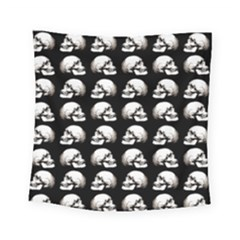 Halloween Skull Pattern Square Tapestry (small)