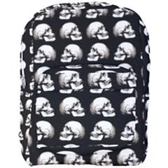 Halloween Skull Pattern Full Print Backpack