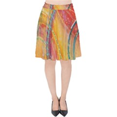 Img 5782 Velvet High Waist Skirt