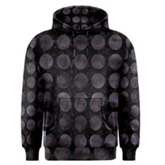 Circles1 Black Marble & Black Watercolor Men s Pullover Hoodie