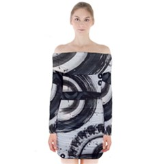 Img 6270 Copy Long Sleeve Off Shoulder Dress