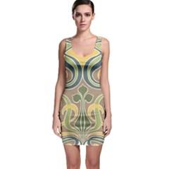 Art Nouveau Bodycon Dress