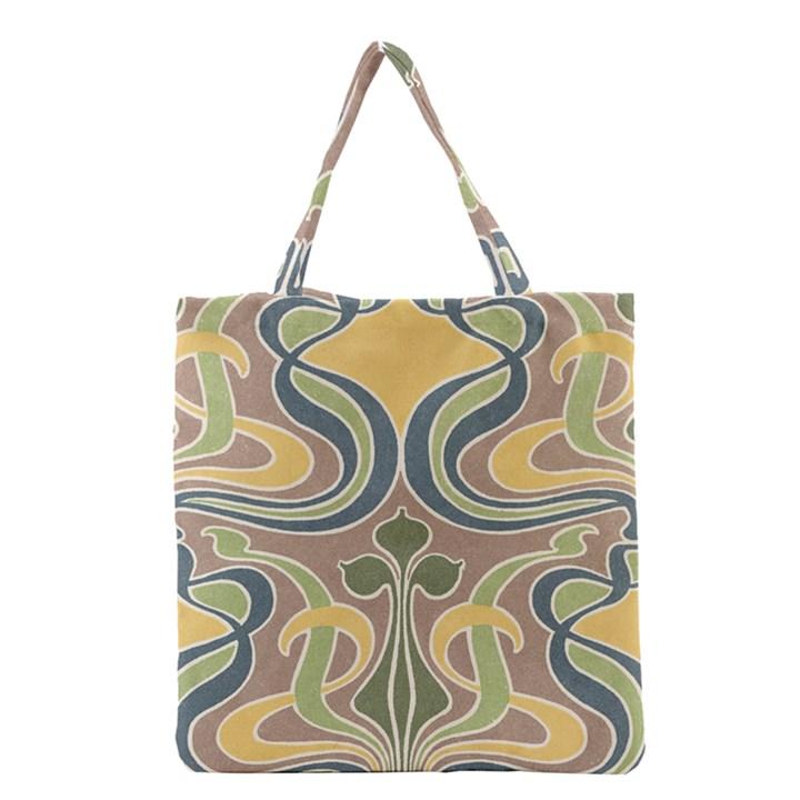 Art Nouveau Grocery Tote Bag