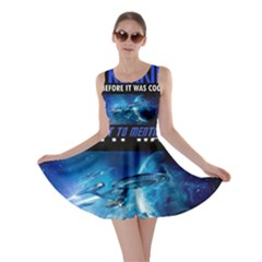 Black Star Trek Tee Skater Dress