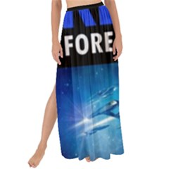 Black Star Trek Tee Maxi Chiffon Tie Up Sarong