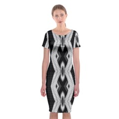 0611003009 Westmead Classic Short Sleeve Midi Dress