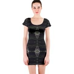 0110002016 Lanai Short Sleeve Bodycon Dress