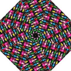 Pattern Colorfulcassettes Icreate Golf Umbrellas