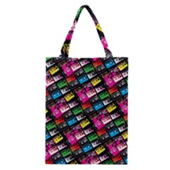 Pattern Colorfulcassettes Icreate Classic Tote Bag