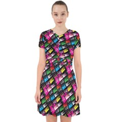 Pattern Colorfulcassettes Icreate Adorable In Chiffon Dress
