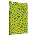 Blue Yellow Space Galaxy Apple iPad Mini Hardshell Case View2