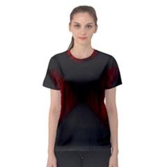 Black Red Door Women s Sport Mesh Tee
