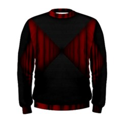 Black Red Door Men s Sweatshirt