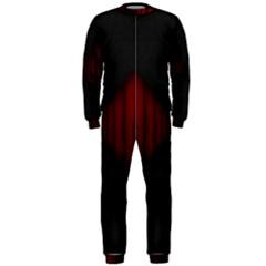 Black Red Door Onepiece Jumpsuit (men)
