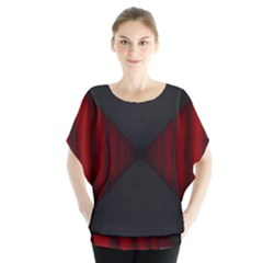 Black Red Door Blouse