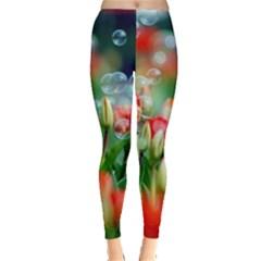 Colorful Flowers Leggings