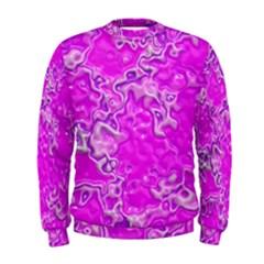 Wet Plastic, Pink Men s Sweatshirt
