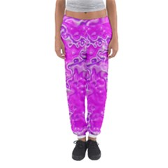 Wet Plastic, Pink Women s Jogger Sweatpants