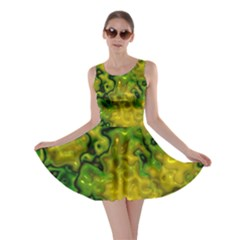 Wet Plastic, Yellow Skater Dress