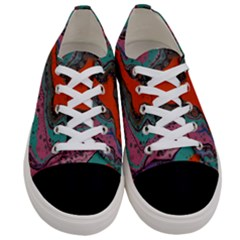 Colours Of Life Women s Low Top Canvas Sneakers