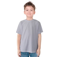 Grey Harbour Mist   Spring 2018 London Fashion Trends Kids  Cotton Tee