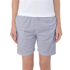 Grey Harbour Mist   Spring 2018 London Fashion Trends Women s Basketball Shorts