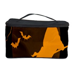 Day Hallowiin Ghost Bat Cobwebs Full Moon Spider Cosmetic Storage Case