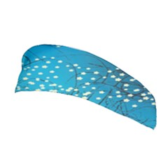 Flower Back Leaf River Blue Star Stretchable Headband