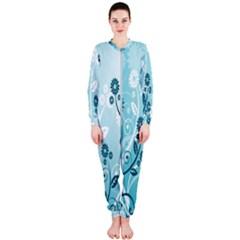 Flower Blue River Star Sunflower Onepiece Jumpsuit (ladies)