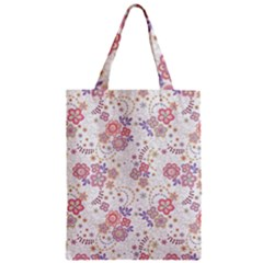 Flower Floral Sunflower Rose Purple Red Star Classic Tote Bag