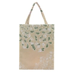 Flower Frame Green Sexy Classic Tote Bag