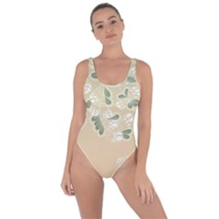 Flower Frame Green Sexy Bring Sexy Back Swimsuit