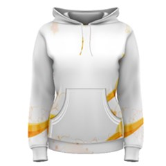 Flower Floral Yellow Sunflower Star Leaf Line Women s Pullover Hoodie