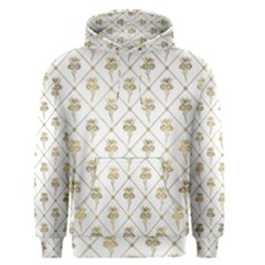 Flower Leaf Gold Men s Pullover Hoodie
