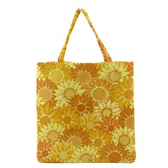 Flower Sunflower Floral Beauty Sexy Grocery Tote Bag