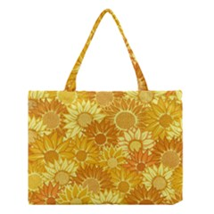 Flower Sunflower Floral Beauty Sexy Medium Tote Bag