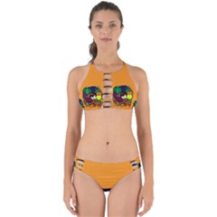 Healthy Vegetables Food Perfectly Cut Out Bikini Set