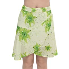 Leaf Green Star Beauty Chiffon Wrap