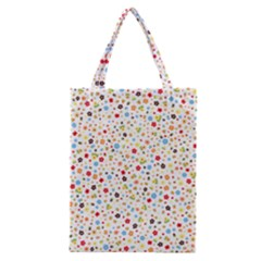 Flower Star Rose Sunflower Rainbow Smal Classic Tote Bag