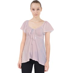 Love Heart Flower Purple Sexy Rose Lace Front Dolly Top
