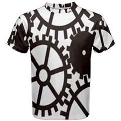 Machine Iron Maintenance Men s Cotton Tee