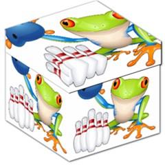 Tree Frog Bowler Storage Stool 12