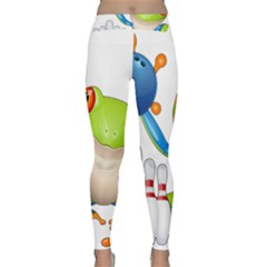 Tree Frog Bowler Classic Yoga Leggings